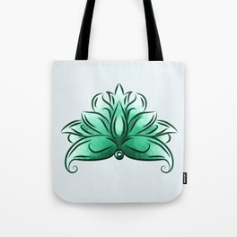 The mint loto Tote Bag