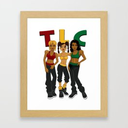 TLC Framed Art Print