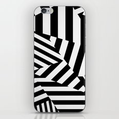 RADAR/ASDIC Black and White Graphic Dazzle Camouflage iPhone & iPod Skin