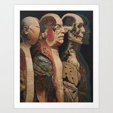 Body, Mind, Soul and Spirit Art Print