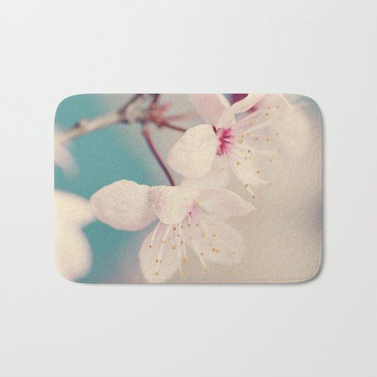 spring blossoms II Bath Mat