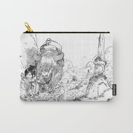 Promenade dans la montagne - Walking in the mountains Carry-All Pouch