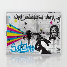 What A Wonderful World Laptop & iPad Skin