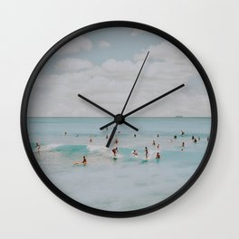 lets surf xliii Wall Clock