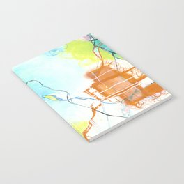 The Dreaming - Square Abstract Expressionism Notebook