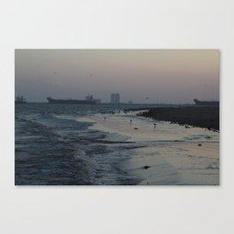 Shores of Texas Canvas Print