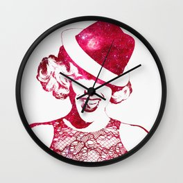 P!nk Wall Clock