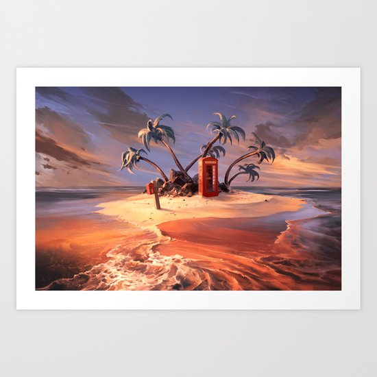 In the event of sinking Art Print