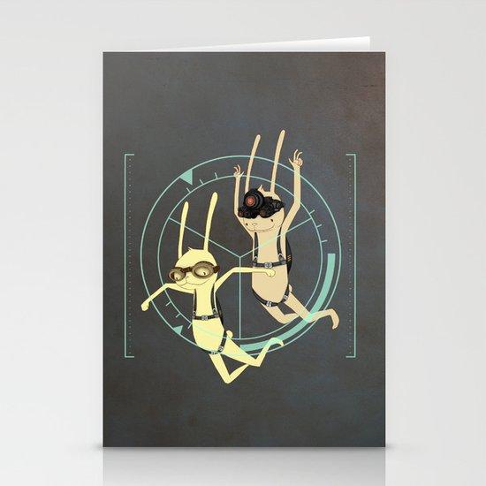 TRIZ Extended [collap w Sweet Aleksandra] Stationery Cards