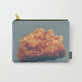 Orange crystals Carry-All Pouch