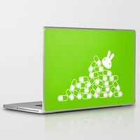 pills Laptop & iPad Skins featuring Crazy pills by flydesign