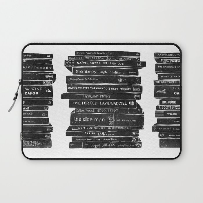 Mono book stack 1 Laptop Sleeve