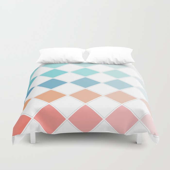 Chequers Duvet Cover