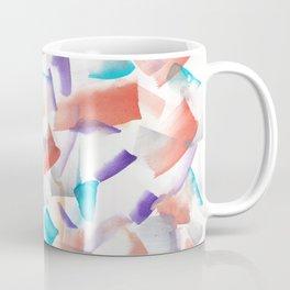 180719 Koh-I-Noor Watercolour Abstract 12| Watercolor Brush Strokes Coffee Mug
