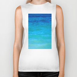 Landscape   Seascape   Water Colours Abstract   Nadia Bonello Biker Tank