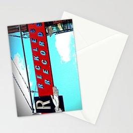 Reckless Records ~ chicago sign Stationery Cards