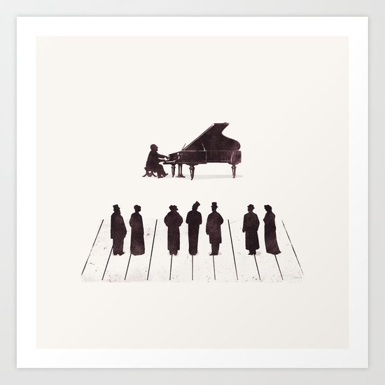 A Great Composition Art Print