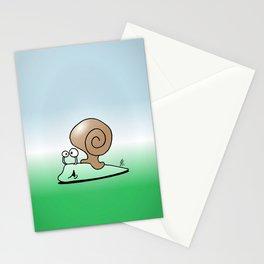 Snail Stationery Cards