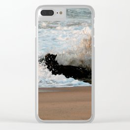 Crash into you Clear iPhone Case