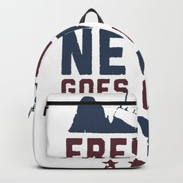 FREEDOM NEVER GOES OUT OF STYLE T-SHIRT Backpack