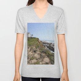 Point Montara Lighthouse Unisex V-Neck
