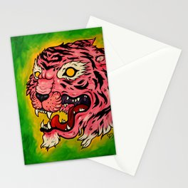 Wrath of the Pink Tigress Stationery Cards