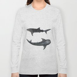 Whale sharks Long Sleeve T-shirt