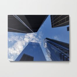 Sky through NYC Metal Print