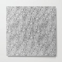 Clusters Metal Print