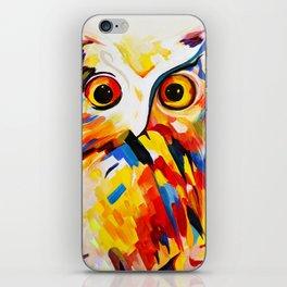 Owl in Sunset iPhone Skin