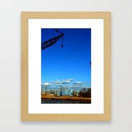 Settle for Industrial   Framed Art Print