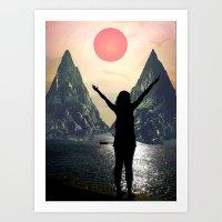 My Sun Art Print