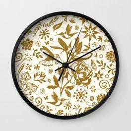 Oh, beautiful garden of mine Wall Clock