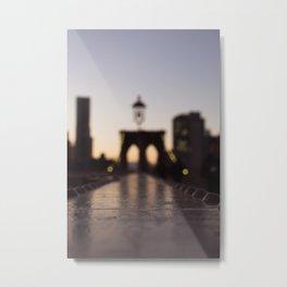 Blurry Reflections Metal Print