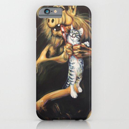 Alf Devouring His Cat iPhone & iPod Case