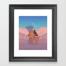 Chrome Atari Framed Art Print