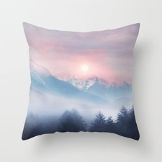 Pastel vibes 11 Throw Pillow