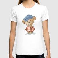 teddy bear T-shirts featuring Teddy bear by Toru Sanogawa