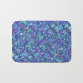 Iridescent Fragments Bath Mat