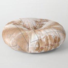 Chowders Weave Flowers  ID:16165-160051-47851 Floor Pillow