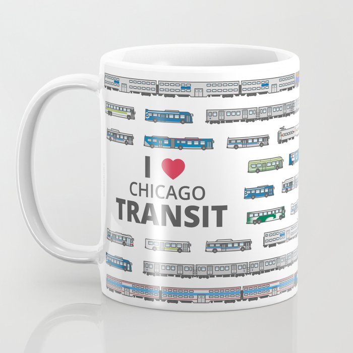 The Transit of Greater Chicago Coffee Mug