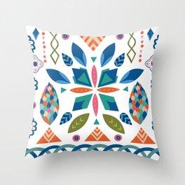 Folk art Throw Pillow