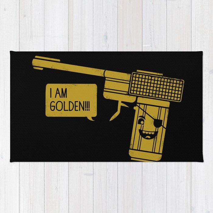 Dangerously Golden Rug