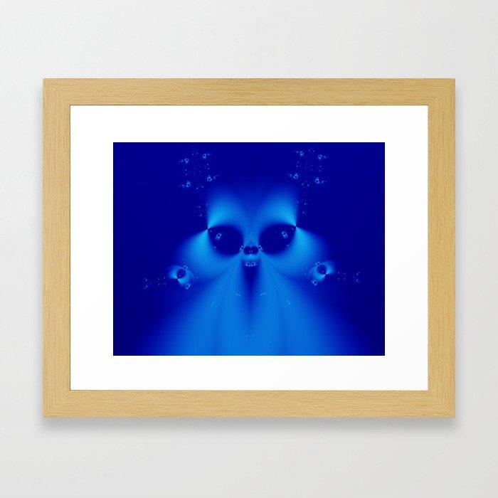 Something slightly spooky Framed Art Print