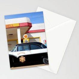 Vintage Car & Service Station : Lowell Arizona Stationery Cards