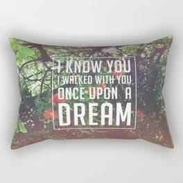Once upon a dream Rectangular Pillow
