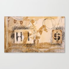 HI dollar Canvas Print