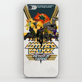 Command Panther iPhone Skin