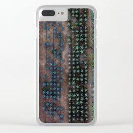 A Manicured Jungle Clear iPhone Case