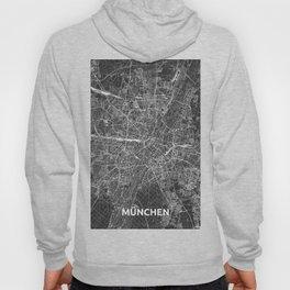 Munich, Germany street map Hoody